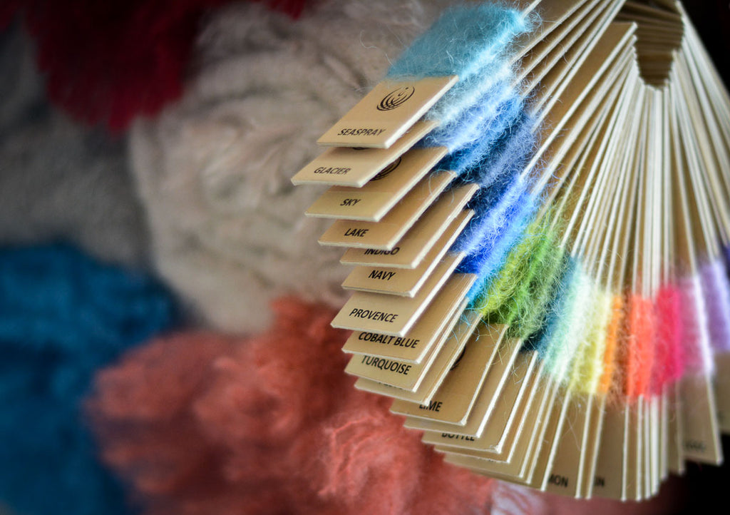 How to Wash Mohair or Alpaca Throw Blankets