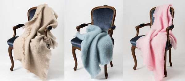Mohair Throws For Elderly Birthday Gifts
