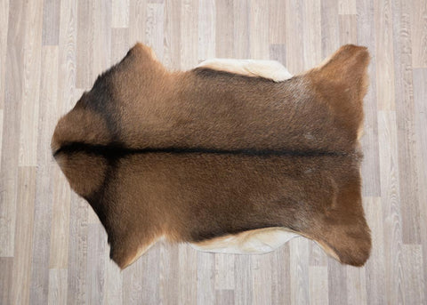 Brown Goat Skin Rug
