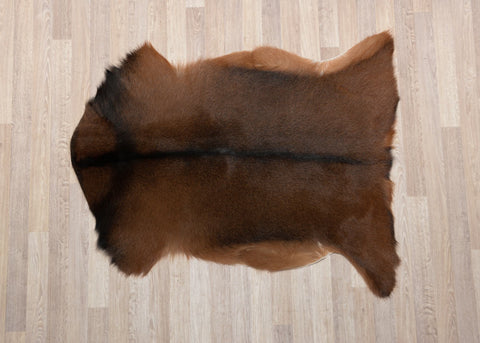Image of Brown Goat Skin Rug