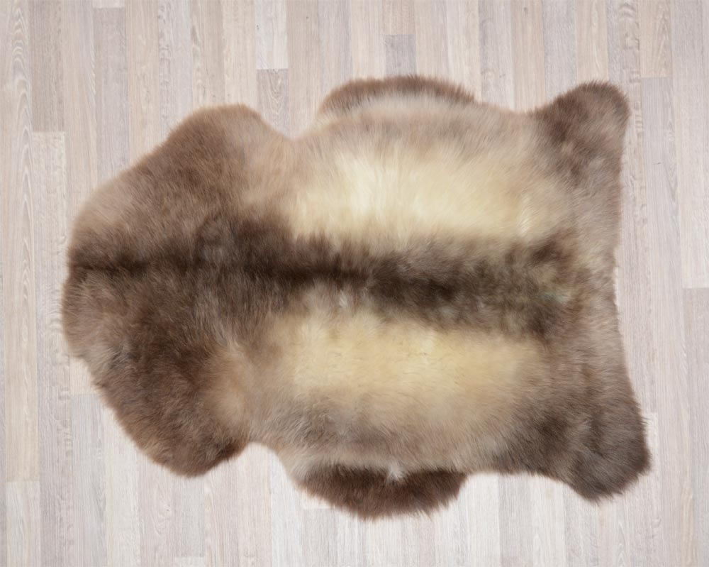 Natural Brown Sheepskins New Zealand | Natural Coloured Lambskins on dry sheep equivalent,