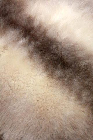 Natural New Zealand sheepskin rug