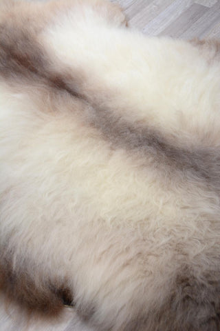 029 Rare Cameo Cream Sheepskin Rug - XL