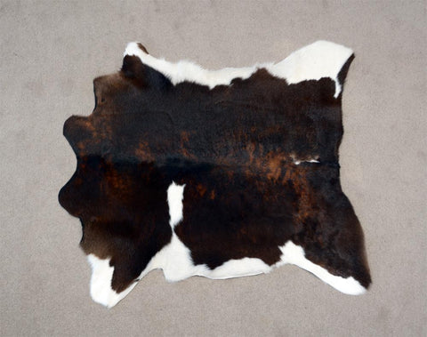 Calfskin Rug Dark Tri-colour