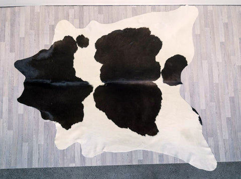 COW3490 Cowhide Rug Chocolate & Cream 3.15msq