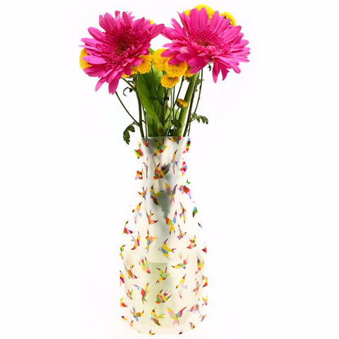 Plastic Expandable Flower Vase - Tippi Birds