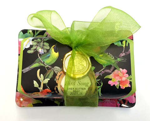Image of Bird Song Soap & Soap Dish Gift Set
