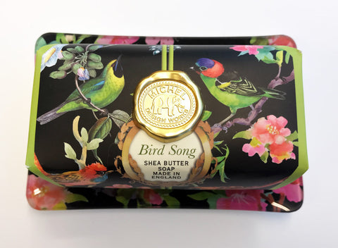 Bird Song Soap & Soap Dish Gift Set