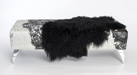 Image of Black Tibetan Lamb Skin