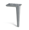 Image of Borsari Aluminium Ottoman Legs 10cm Tall - Brushed Matt