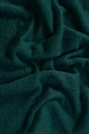 Bottle Green Mohair Chair Throw