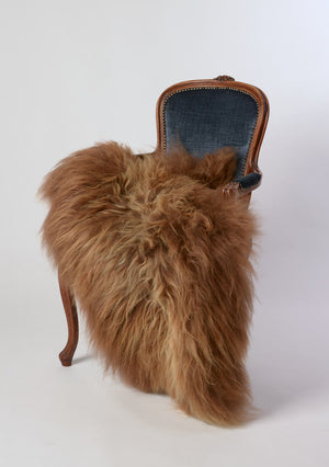 Icelandic Sheepskin #011 - Chestnut Brown