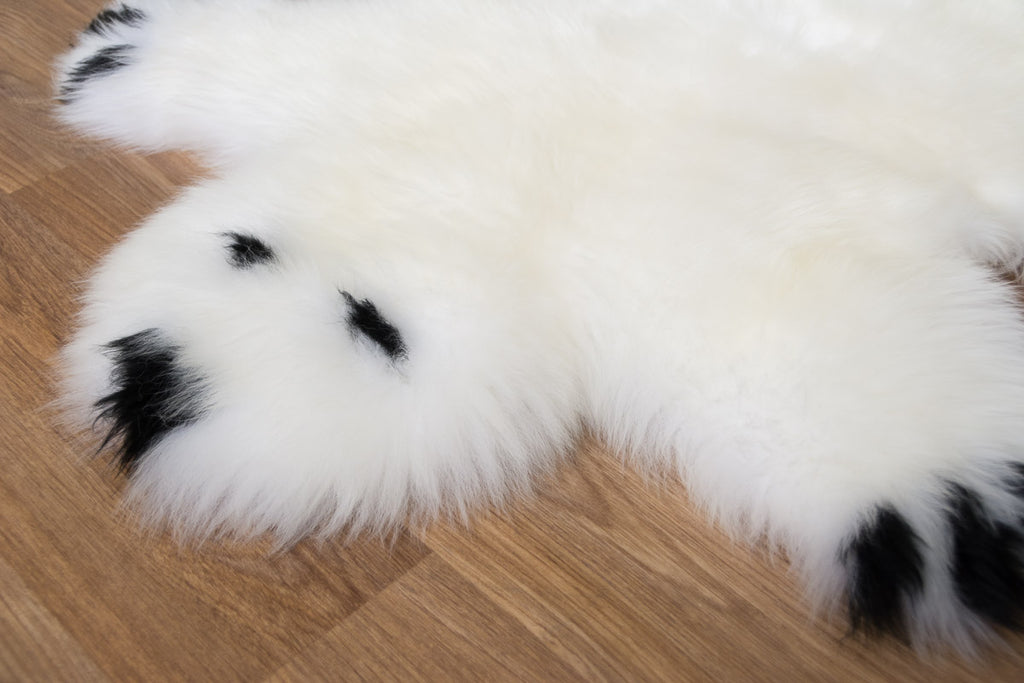 Buddy the Bear Sheepskin Rug for Kids