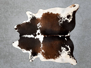 Chocolate Brown Speckle Cowhide Rug