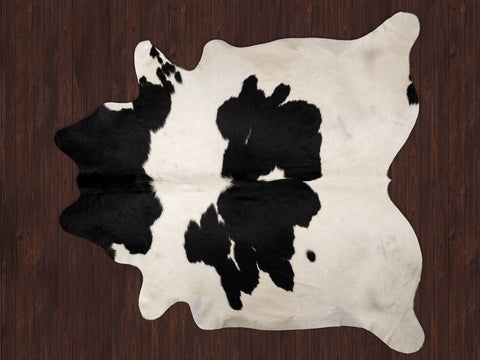 Cowhide Rug Black and White
