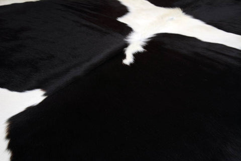 Cowhide Rug Black & White COW3594
