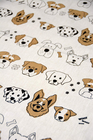 Dog Lovers Tea Towel