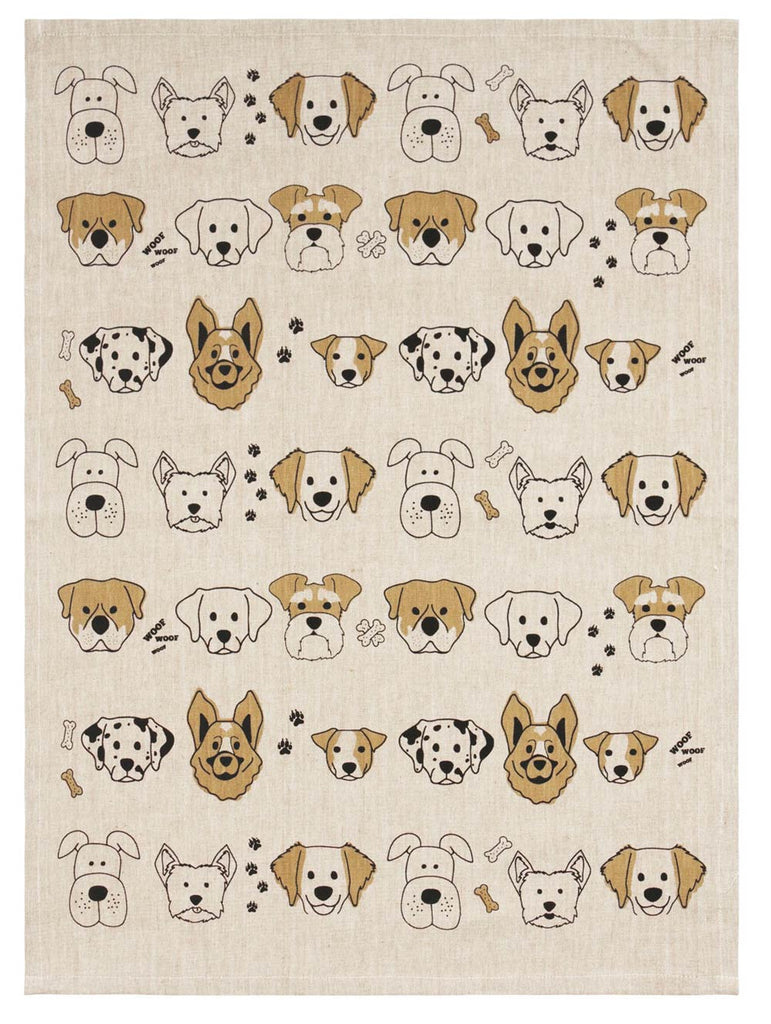 Dog Lovers Cotton Tea Towel