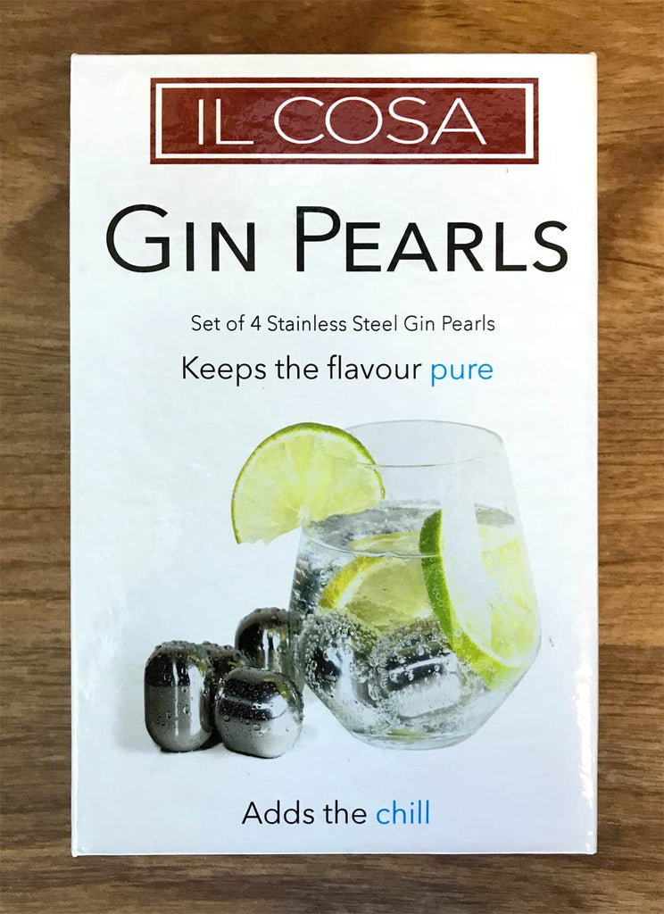 Gin Pearls Set of 4 with Carry Bag for use with a gin & tonic