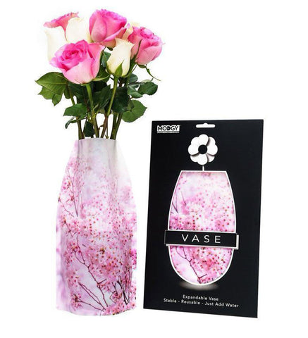 Image of Plastic Reusable Expandable Flower Vase - Hana