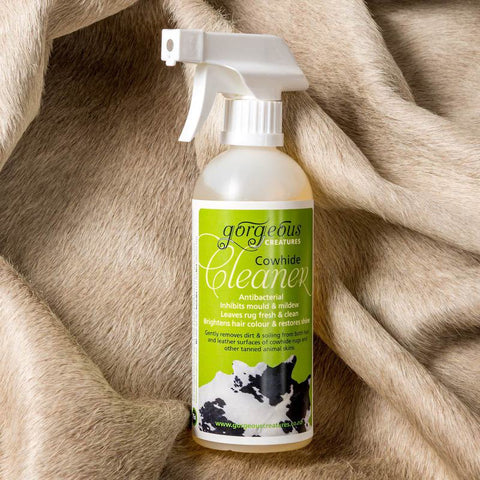 Image of Gorgeous Creatures cowhide cleaner to clean animal skins