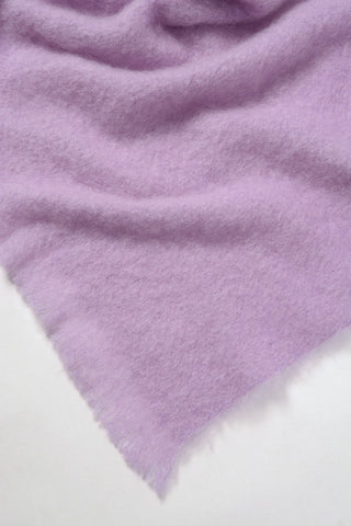 Windermere Lilac Pink Mohair Chair Throw