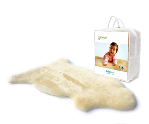Babycare Natural Sheepskin Lambie Rug - Shorn Short Wool