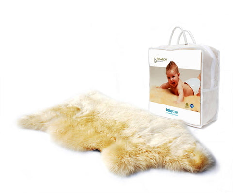 Image of Bowron Babycare Natural Sheepskin Lambie Rug