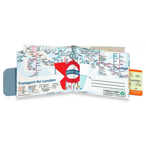 Image of Tyvek Might Wallet - The London Underground