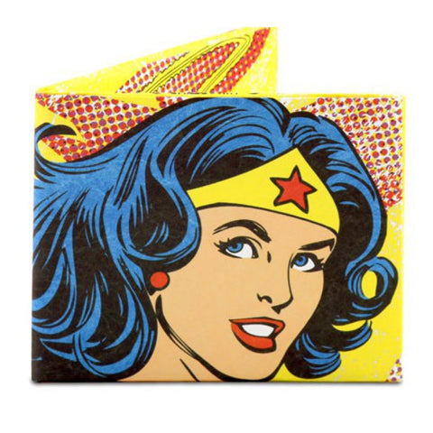 Image of Tyvek Might Wallet - Wonder Woman Vintage