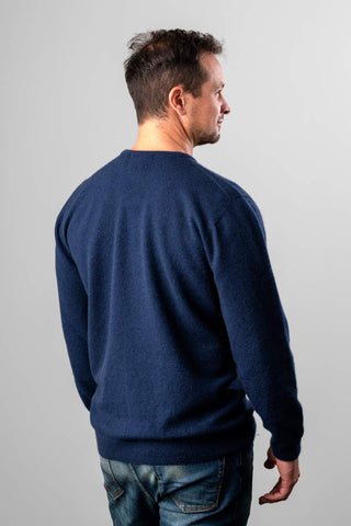 Image of Twilight men's possum merino wool crew neck sweater