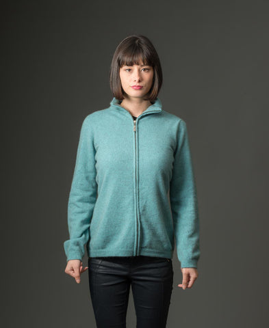 Image of Topaz Women's Plain Zip Jacket - NB485