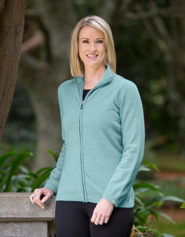 Topaz Women's Plain Zip Jacket - NB485