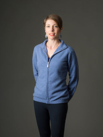 Bluebell Women's Plain Zip Jacket - NB485