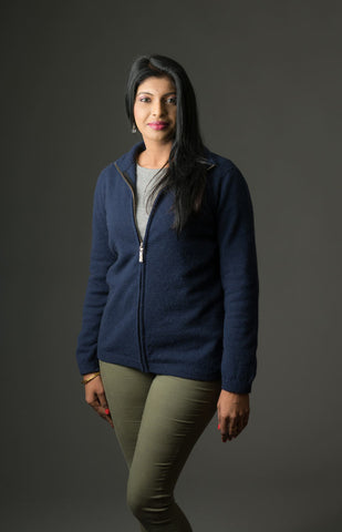 Twilight Women's Plain Zip Jacket - NB485