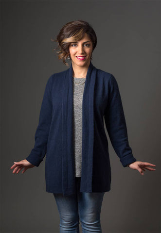 Image of Native World Twilight Women's Long Merino Wrap Jacket - NB498