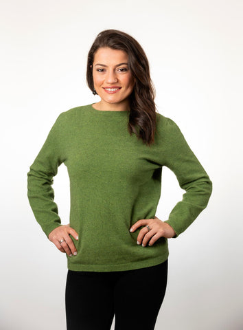 Meadow Women's Plain Round Neck Sweater - NB682