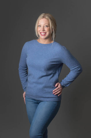 Image of Bluebell Women's Plain Round Neck Sweater - NB682