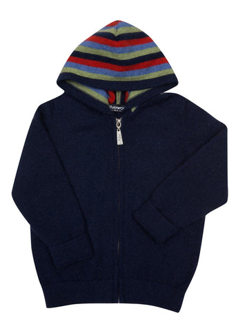 Twilight Blue Kids Hoodie Jacket - NB712