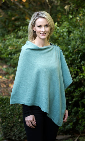 Image of Native World Topaz Women's Six-Way Possum Merino Wrap - NE557