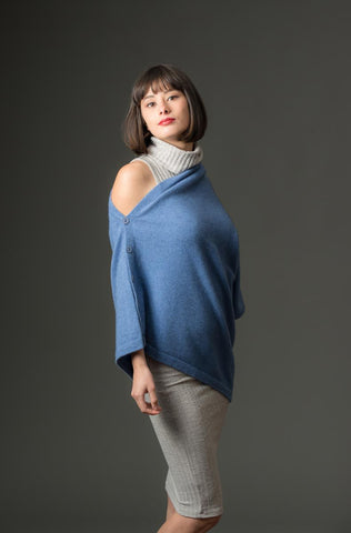 Bluebell Women's Any-Way Possum Merino Wrap - NE557