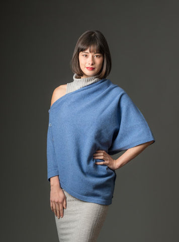 Image of Bluebell Women's Six-Way Possum Merino Wrap - NE557