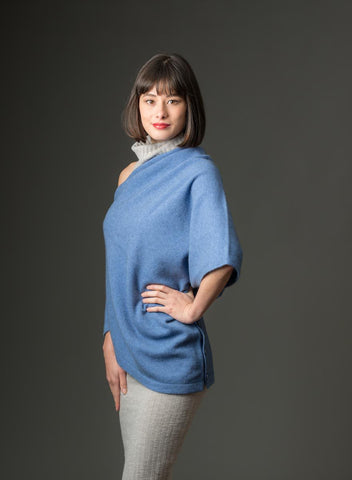 Image of Bluebell Women's Any-Way Possum Merino Wrap - NE557