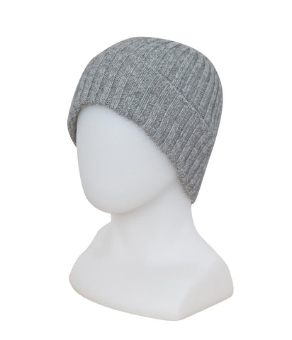 Image of Silver Seamless Rib Ladies Beanie - NX480