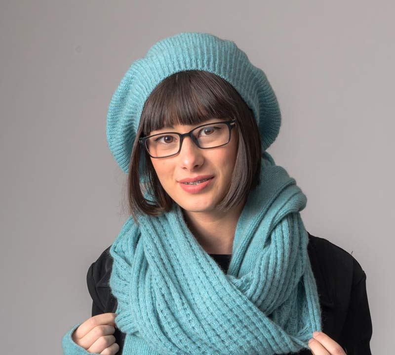 Topaz Endless Lace Loop Scarf - NX479
