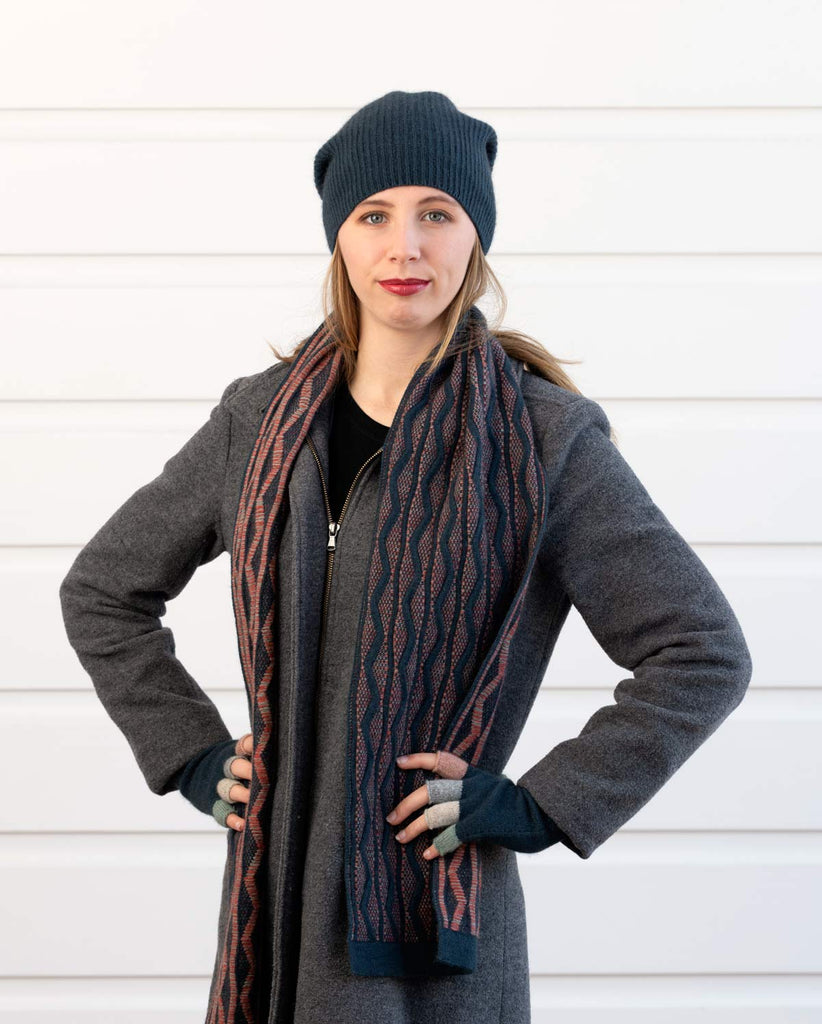 Native World Possum Merino Wool Ocean Dune Scarf - NX806