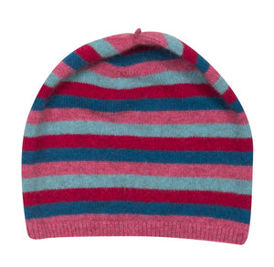 Raspberry Pink Kids Beanie Hat - NX707