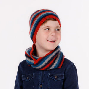 Possum & Merino Wool Ruby Kids Beanie Hat - NX707