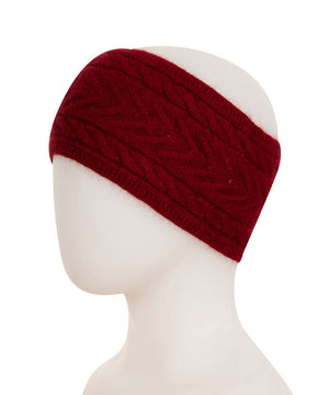 Native World Berry Cable Knit Headband - NX725