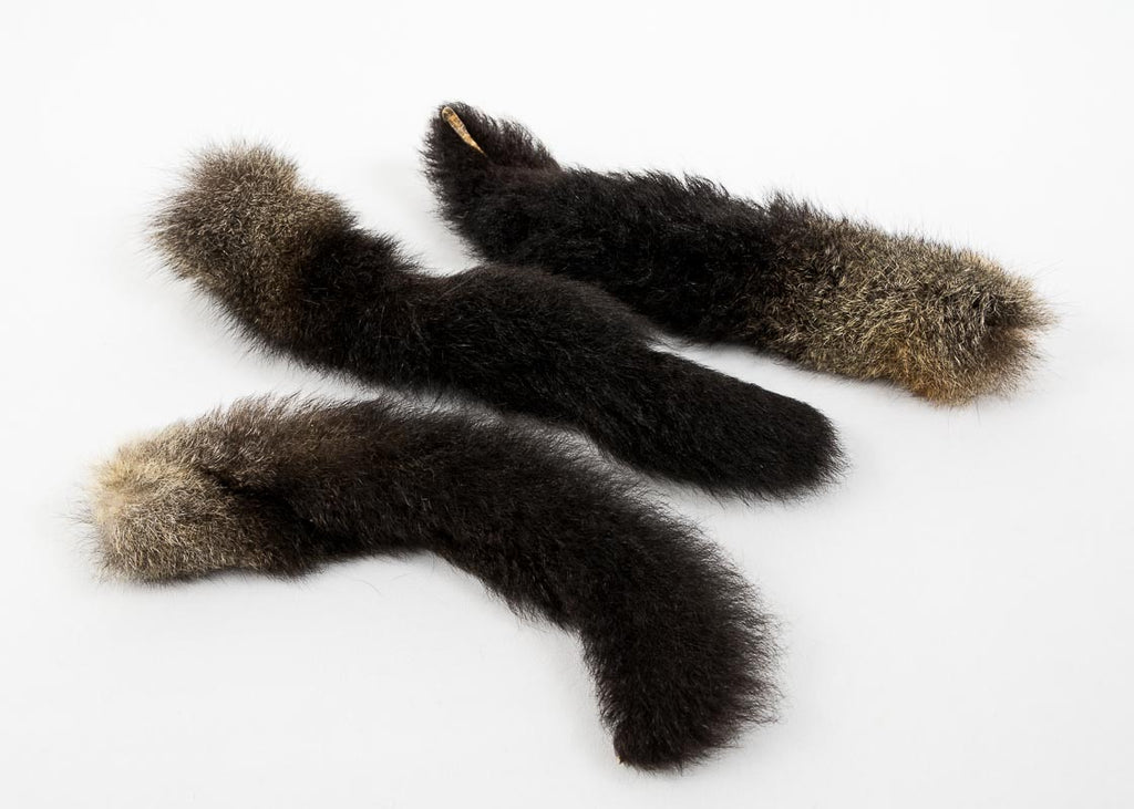 NZ possum tails as pet toys